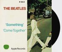 THE BEATLES Something Vinyl Record 7 Inch Apple 2019